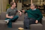 Mark Zuckerberg e Bill Gates se unem no combate ao coronavírus